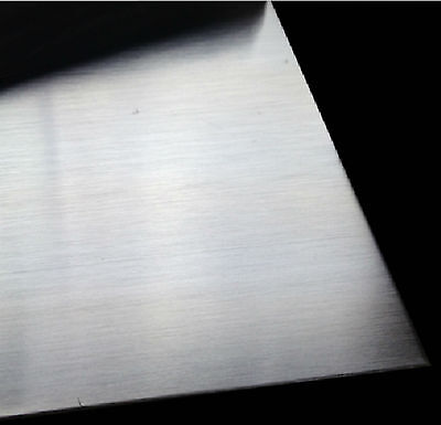 2pcs  304 Stainless Steel Fine Polished Plate Sheet 0.5mm x 100mm x 100mm # GY