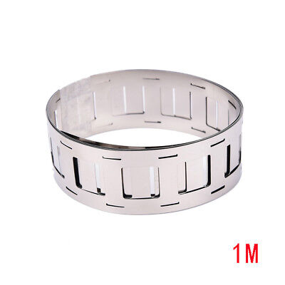 KD_ 1m Ni Plate Nickel Tape Strip for 18650 Li-Ion Battery Spot Welding Splendid