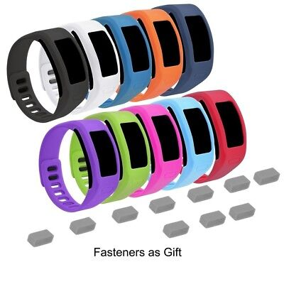 (Large, a10 pack) - EverAct™ Colourful Replacement Bands for Garmin Vivofit (