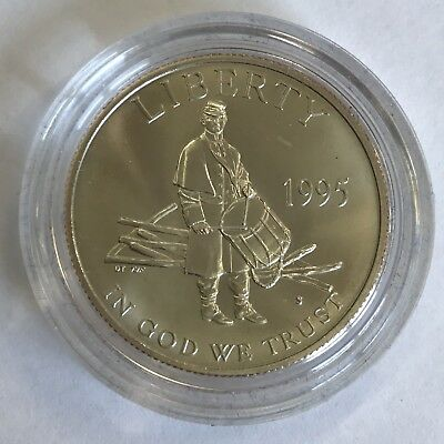 U.S.A. America 1995 Half Dollar Coin Enriching Our Future By Preserving The Past