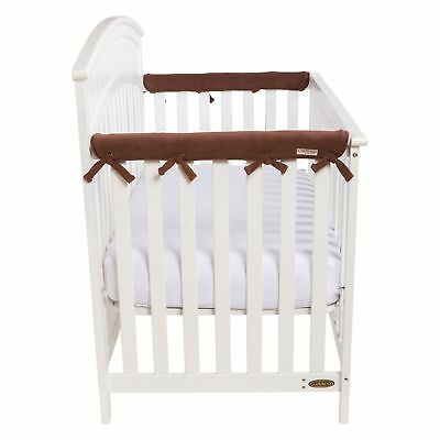 Trend Lab Waterproof CribWrap Rail Cover - For Narrow Side Crib Rails Made to