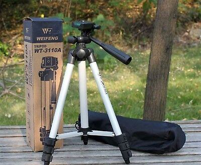 TeFeng TF-3110 Adjustable Portable Camera Tripod with Three-dimensional Head