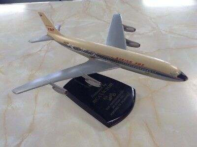 Boeing 707 RCA Victor For Participation In Jet-Styled Portable TV Model W Stand