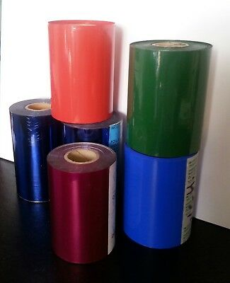 Diff Foil Colours Suitable for Hot Foil Printing / Stamping- 90mm to100mm x 122m