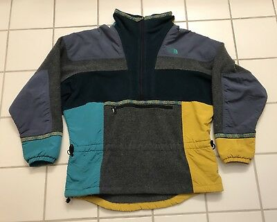Rare Vintage The North Face Rage Jacket Pullover Fleece North Face Ultrex Heli