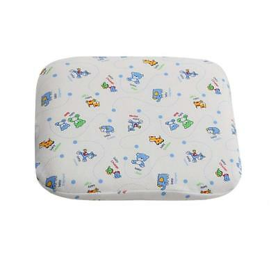 PARIS WEAVER Baby Pillow, Memory Foam Cushion for Flat Head Syndrome Prevention,