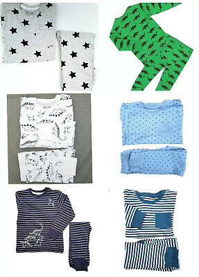 NEW Boys Pyjamas PJ's Age 9-24 Month  2 3 4 5 6 7 8 Yrs Ex N*XT