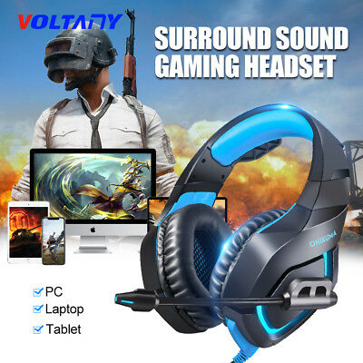 ONIKUMA K1B Stereo Bass Surround Gaming Headset for PS4 New Xbox One PC with Mic