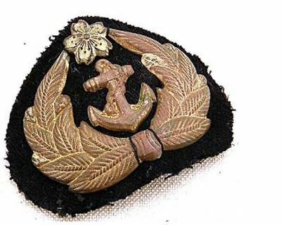 WW2 Imperial Japanese Navy Petty Officer Hat Cap Patch Badge Vintage After 1942!