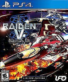 Raiden V: Director's Cut -- Limited Edition (Sony PlayStation 4, 2017) PS4