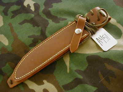 """Randall Knives Sheath For Model #1,#5,#16-7""""sp.f.,brown Don't Use Original #a451"""