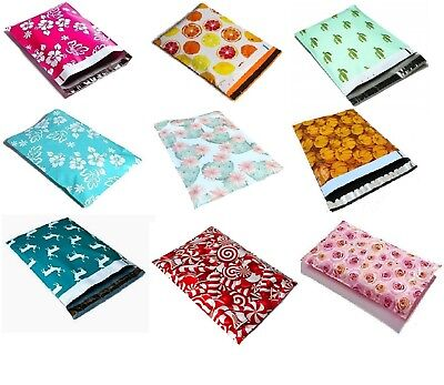 Designer Poly Mailers Plastic Envelopes Shipping Bags Custom #SmileMail®