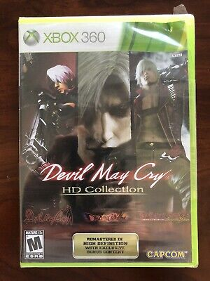 Devil May Cry HD Collection Microsoft Xbox 360 Brand New Factory Sealed