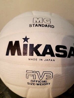 MIKASA Volleyball Ball - MG Standard - Official Size - Weight - weiß - neu
