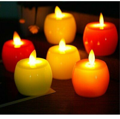 LED Tea Light Candle Tealight Flameless Flickering Battery Wedding Christmas