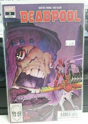 DEADPOOL #2 skottie young ongoing series Marvel Comics (2018) NM secure shipping