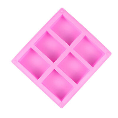 Fondant Cake Baking Pan Cookies Mould Silicone Soap Mold Ice Cube Tray