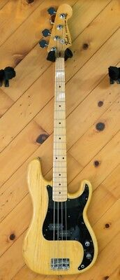 Fender 1978 Precision Bass With Hard Case