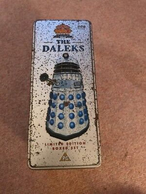 Doctor Who 30th Anniversary 1963-93 The Daleks Limited Edition Boxed Set - VHS