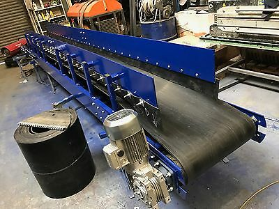 Custom conveyors, conveyor belt 600mm wide x 6000 meters long NEW
