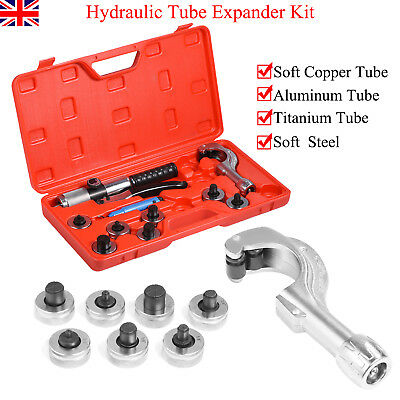 7 Lever Hydraulic Tubing Expander Tool Swaging Kit HVAC Tools Tube Piping Pipe