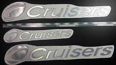 "Cruisers boat Emblem 22"" + FREE FAST delivery DHL express - stickers decal"
