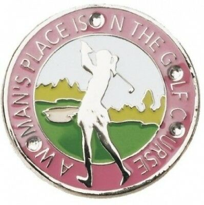 Navika A Woman's Place. Crystal Ball Marker with Hat Clip. Navika USA Inc.