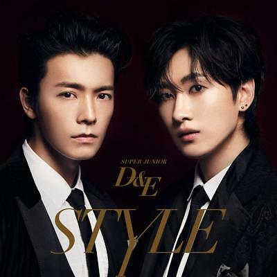 SUPER JUNIOR D&E Japan 2nd Full Album [STYLE] (CD+DVD) Limited Edition F/S