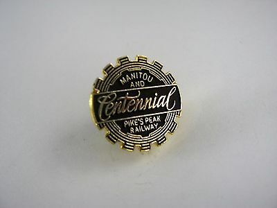 Vintage Collectible Pin: Manitou and Pike's Peak Railway Centennial 100 Years
