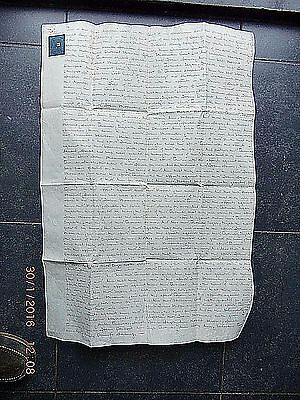 1811(Geo 3rd) LARGE VELLUM FINAL CONCORD INDENTURE.  MARGATE & BROADSTAIRS.KENT.