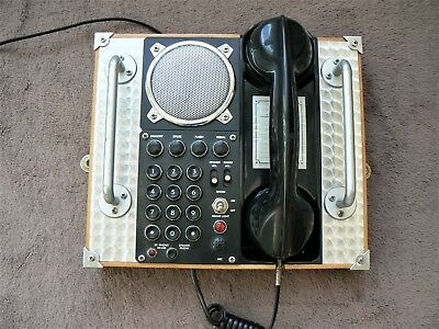 Retro Spirit Of St. Louis S.o.s.l. Field Telephone