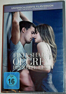 DVD - Fifty Shades of Grey - Befreite Lust Teil 3 - NEU - OVP