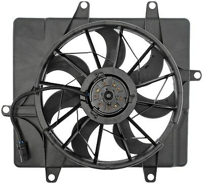 Engine Cooling Fan Assembly-Radiator Fan Assembly fits 01-02 PT Cruiser 2.4L-L4