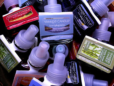 """Yankee Candle Electric Fragrance Oil Plug In Refills ~ 2 Bulbs """"Your Choice"""""""