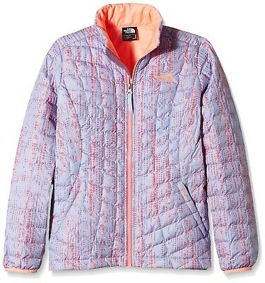 (X-Large/Youth, Blue/Collar Blue Raindrop Print) - The North Face Girl's