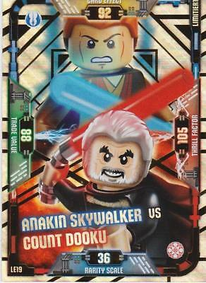 Lego Star Wars Serie 1 Trading Card LE19