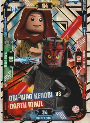 Lego Star Wars Serie 1 Trading Card LE21