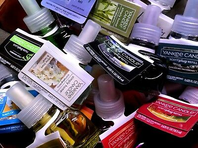 """Yankee Candle Electric Fragrance Oil Plug In Refills """"Your Choice"""""""