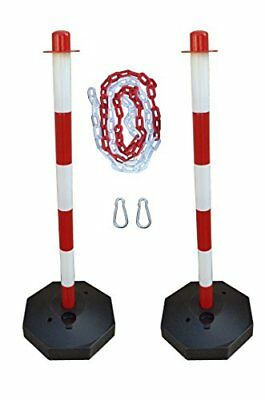 GC2-CH2 Pair of plastic posts with 2m plastic chain