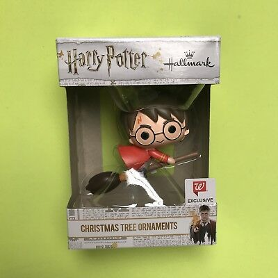Hallmark HARRY POTTER Quidditch Robe Broomstick Walgreens Exclusive Ornament
