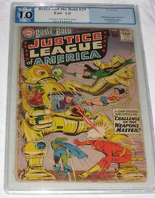 The Brave and the Bold #29 (Apr-May 1960, DC) 2nd appearance Justice League