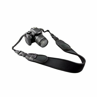 JJC NS-Q2 Extra Wide Comfort Neoprene Neck Strap with Quick Release Clip/Small