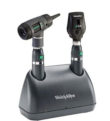 Welch Allyn; 71641-MS Lithium Ion Desk Charger Set; MacroView; Coaxial Heads