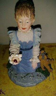 Boyds Dollstone Figurine JACQUELINE with TOOSIE Old Time Fun