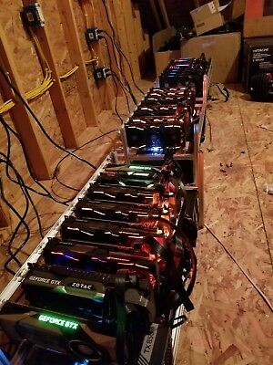 2-hour Mining Contract (15x GTX 1080 ti's)- 940 sol/s BitcoinGold or choose own