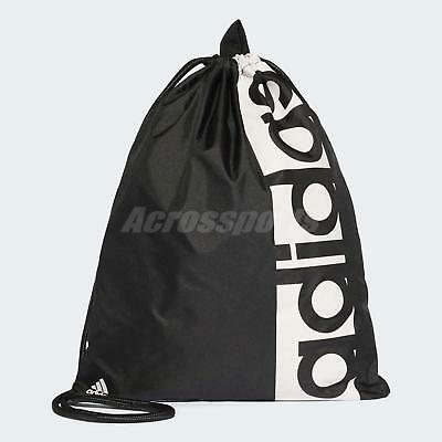 9256cce561 adidas Unisex Linear Performance Gym Sack Bag Backpack Training Workout  S99986