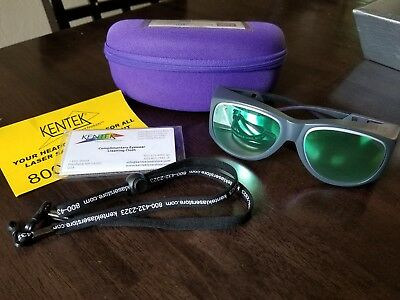 KXL-C500C Laser Safety Glasses for KTP, Alexandrite, Diode, Nd:YAG and CO2