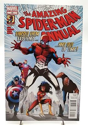 Amazing Spider-Man Annual #39 Out of Time Marvel Comics July 2012 Near Mint