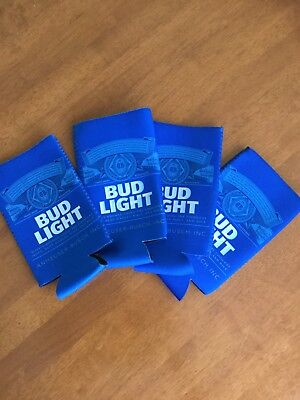 Bud Light Coozie Koozie 24 Oz Tall Can