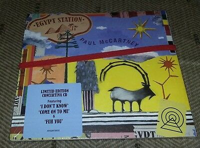 Paul McCartney - Egypt Station LIMITED EDITION CONCERTINA CD (Sep-2018)